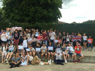 Bravo à tous les participants du collège de Chatel Guyon!