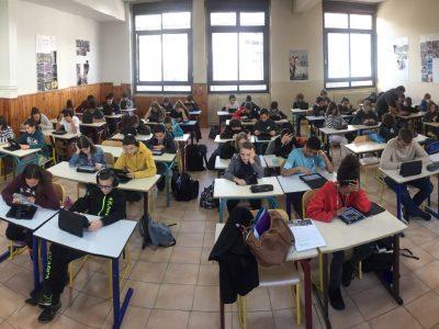 Collège Don Bosco de Nice. Big Challenge tous ensemble.