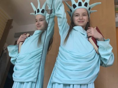 Poissy Notre Dame  La statue de la liberté participe au big challenge !