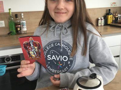 Lambersart, collège Dominique Savio  Vive l'Angleterre, son fameux thé et Harry Potter!