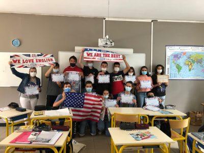 Bravo aux élèves de 3ème du collège Sainte Marie de Cassagnes Bégonhès!