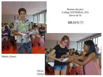 Des élèves très concentrés en train de passer l'épreuve du Big Challenge.