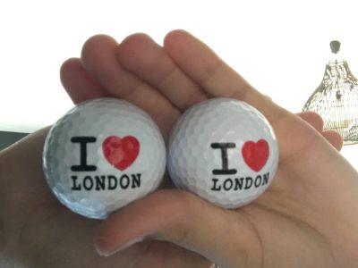 Fontainebleau  Collège international  Des balles de golf ramener de Londres