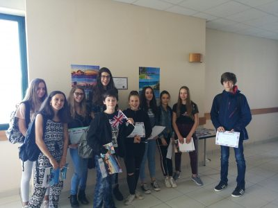 Remise des prix au collège Lucie Aubrac de Bueil (Normandie)