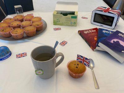 Collège Sainte-Odile à Lambersart  Tea time! So British! #The big challenge