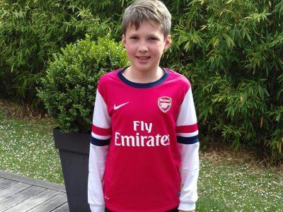 Landerneau Saint Sébastient. My favorite football team is Arsenal and it's an English team.