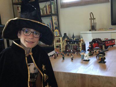 Chambery Collège Saint François de Sales  Harry Potter après avoir passé le big challenge Clutier Gregoire