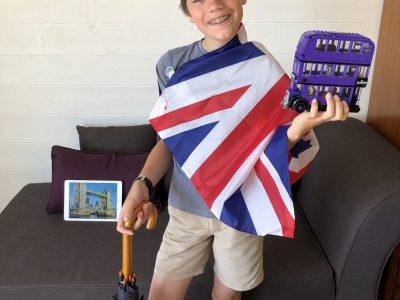 Mon collège est notre dame de la compassion à Pontoise. L'Union Jack, Harry Potter, Tower Bridge: de quoi ,nous faire rêver!!