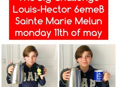 Melun, collège sainte Marie J'aime beaucoup boire du thé. I love to drink au cup of tea