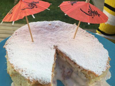 La Rochelle, College missy   Le victoria sponge cake est un gâteau typiquement britannique... délicieux