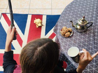 Ville : Dourdan Collège Jeanne d'Arc Titre : it's tea time at Poudlard!