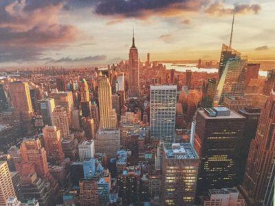 Morteau Collège jean-claude-bouquet Image de New York vue du ciel