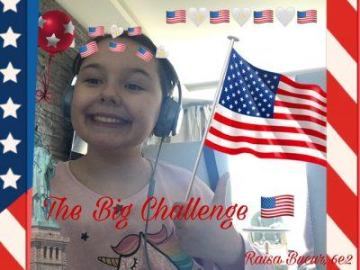 Bonjour, Je m'appelle Raisa et je suis en classe de 6e au collège André capron à cannes. Je participe au concours the big challenge ! Voici une photo de moi avec un montage que j'ai crée :) J'espère que ma photo vous plaira :) Raisa Bucur
