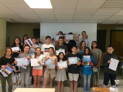 Limoges, Collège Saint Jean. You are the best, we are proud of you!