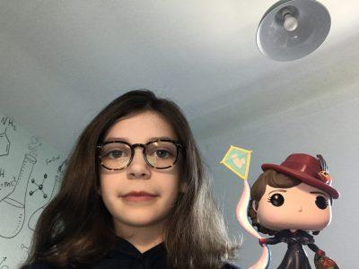 Brie-Comte-Robert  collège Ste Colombe :  Mary Poppins en funko pop avec moi