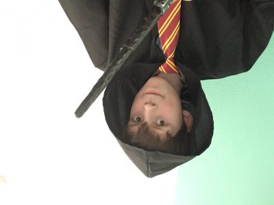 Petit celfie d'Harry Potter