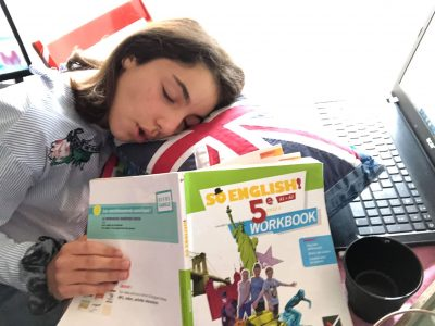 "Montignac, Collège Yvon Delbos  "" Big english challenge, small french nap !"""