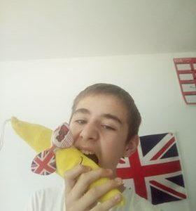 Mayenne Don Bosco Quand je mange des banane à Londres .