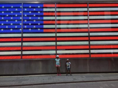 Collège Sainte Marie à MEAUX (77100).  Photo prise sur Times Square à New-York