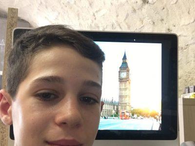 Bourg St andéol  Collège le laoul  J'ai hâte d'aller en Angleterre et de prendre un vrai selfie avec big ben