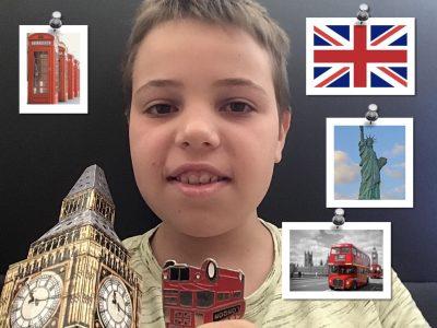 Chambéry  Collège Saint-François de Sales J'ai pris le drapeau du pays et des photos qui symbolisent les pays anglophones.