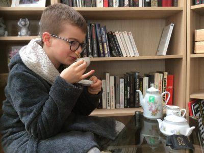 Pierrelatte (26) Collège Gustave Jaume  C'est l'heure du thé !
