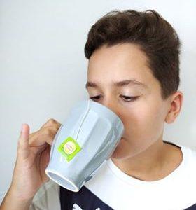 Hummm a nice cup of tea!!!! College René Cassin à Cosne cours sur loire