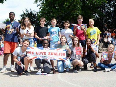 Séminaire de Jeunes, Walbourg. Some of the 5ème students who participated