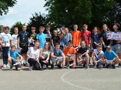 Séminaire de Jeunes, Walbourg. The group of participants in 4e