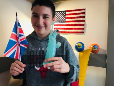 """Hi, My name is Ascanio OLARD. I live in Lyon and I am at """"Collège Vendôme"""" secondary school in the 3e7 classroom. My family and I, we are very fond of Scotland and Canada. We have also visited England, some States in the US. My next dream is to study at a Canadian or a Scottish University... Regards, Ascanio, 130 rue Vendome, 69006 LYON (France)"""