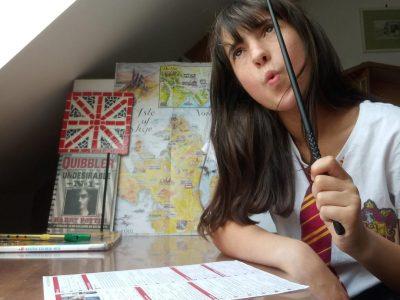 """Bonjour je m'appelle Auriane et je suis en 6eD au collège Mongazon à Angers. Voici mon petit commentaire:"""" L'anglais et la Magie du Big Challenge !"""""""