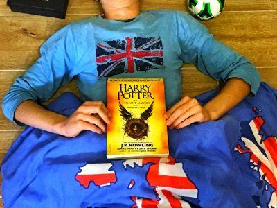 JUAN LES PINS, Collège Sidney Bechet «Rien de mieux que de dormir en compagnie d'Harry Potter et la beauté de l'Angleterre en tête» Mathis Suarez 5*2