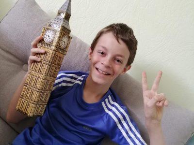 BRUNSTEIN Joachim 6°3 collège beatus rhenanus de Selestat !  J'ai rétréci le Big Ben !!!!
