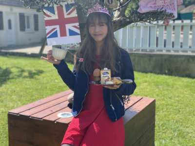 A Royal cup of tea under Big Ben !