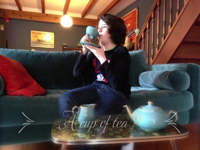 AUBIERE (63) Collège Saint Joseph  A cup of tea ?