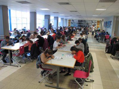 RENNES Collège ASSOMPTION  Un grand moment pour un grand concours ! Merci au Big Challenge ! We love English !