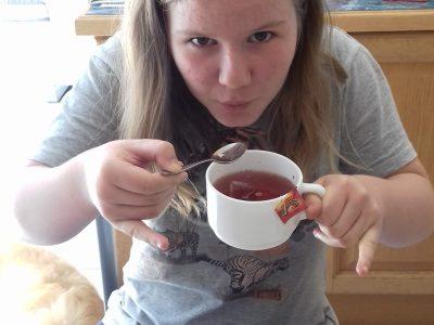 Plabennec , école Saint Joseph  Do you want a cup of tea ?
