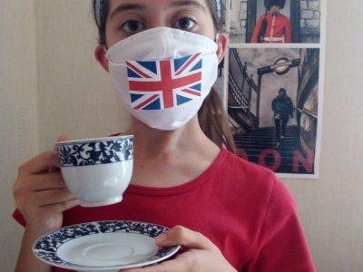 """ISMGG à  SAINT CHAMOND  """"Un bon thé très apprécié ! Enjoy it !"""""""