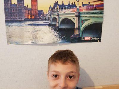 J'habite à Chateaubernard, je suis en 5ème au collège Félix Gaillard. J'aimerai visiter Londres et ses alentours. Vive le Big Challenge !!!