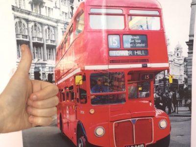On est chez soi, met aussi à Londres ! Le Vésinet. Collège le Cedre.