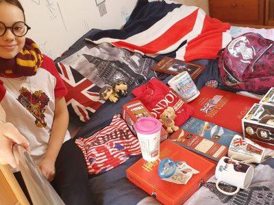 Perthes en Gâtinais   collège Christine De Pisans  ma passion pour Londres et Harry Potter