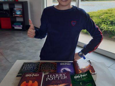 """Saint-Laurent-sur-Sèvre - Collège Saint Gabriel """"I like to read Harry Potter's books !"""""""