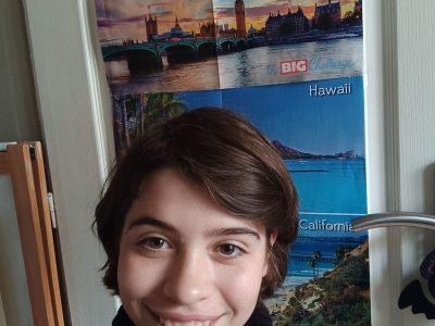 Ozoir la Ferrière collège Marie Laurencin. Depuis la 6ème je participe au Big Challenge (d'où les posters), j'ai toujours été première et je continuerai!