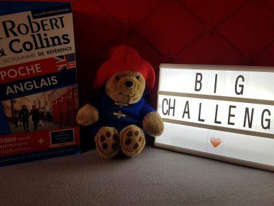 Blagnac Collège Jean Mermoz    Le petit paddington visite Londres avec son dictionnaire français/anglais !