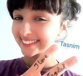 La Marsa, Azouzi Tasnim, Keep calm and love English
