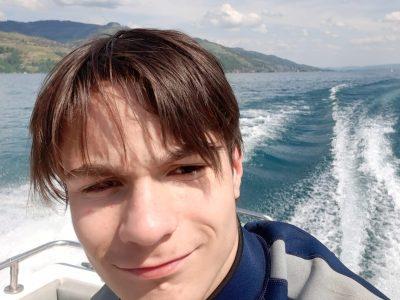 Brandon I.S.M.Sur le bateau avec la TEAM RÖSTI.