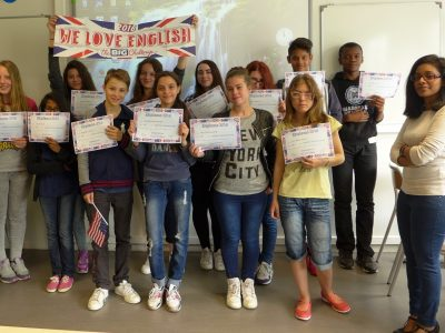 Collège STENDHAL à Fosses (95) - Bravo aux 3è courageux !