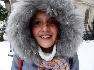 AUBEVOYE - Collège Simone Signoret Un souvenir enchanté de mon séjour à Edimbourg, sous la neige, en février 2018.