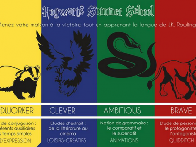 """they 4 houses of """"Harry Potter"""".     saint-CHARLES   Orléans"""