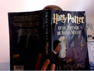 J m' appelle Paul Gressier et je suis en 5ème Berlin au Collège le Trion à Samer dans le pas de calais.  J'ai mis une photo de moi lisant Harry Potter car c'est un classique Anglais.